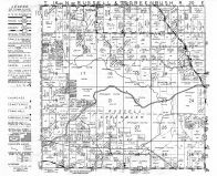 Russell Township, Greenbrush Township, St. Anna, Sheboygen County 1951